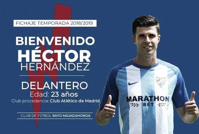 Héctor Hernández, segundo refuerzo para la delantera