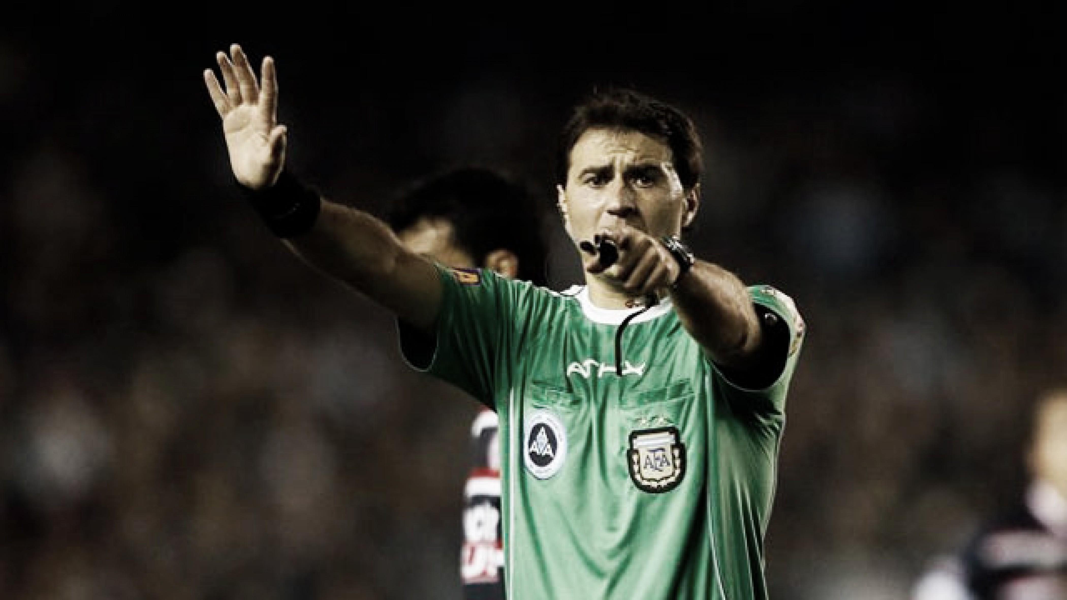 Héctor Paletta es el árbitro designado ante Gimnasia