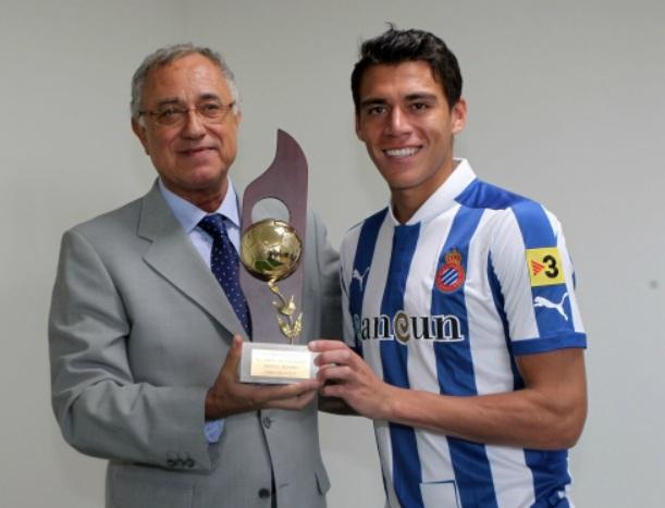Premio para Moreno y visita de Poyatos