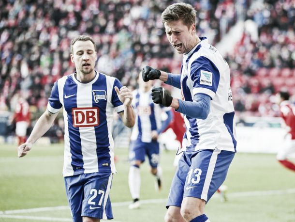 Mainz 0-2 Hertha BSC: Visitors Get Much Needed Win To Move Them Closer To Safety