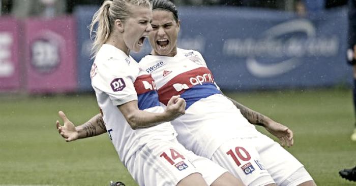 Em confronto direto, Lyon goleia Montpellier pelo Campeonato Francês Feminino