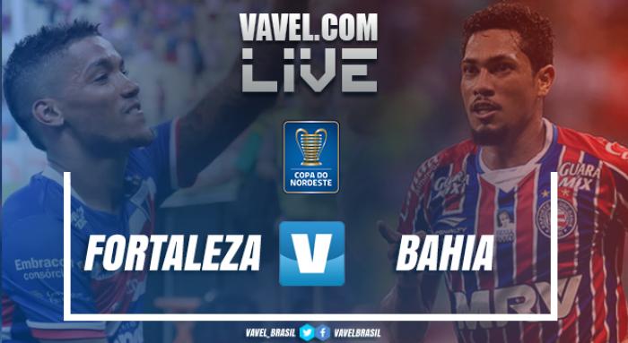 Resultado Fortaleza x Bahia na Copa do Nordeste (0-0)