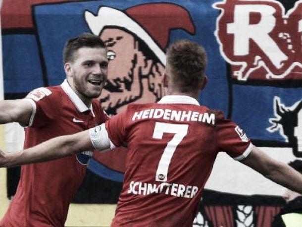 Heidenheim 2-1 St. Pauli: Schnatterer's late spot kick seals victory for the hosts
