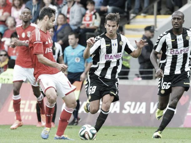 Edgar Abreu: uma estreia de sonho com golo ao campeão Benfica