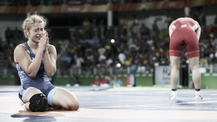 Tricampeã é derrotada por norte-americana na luta livre