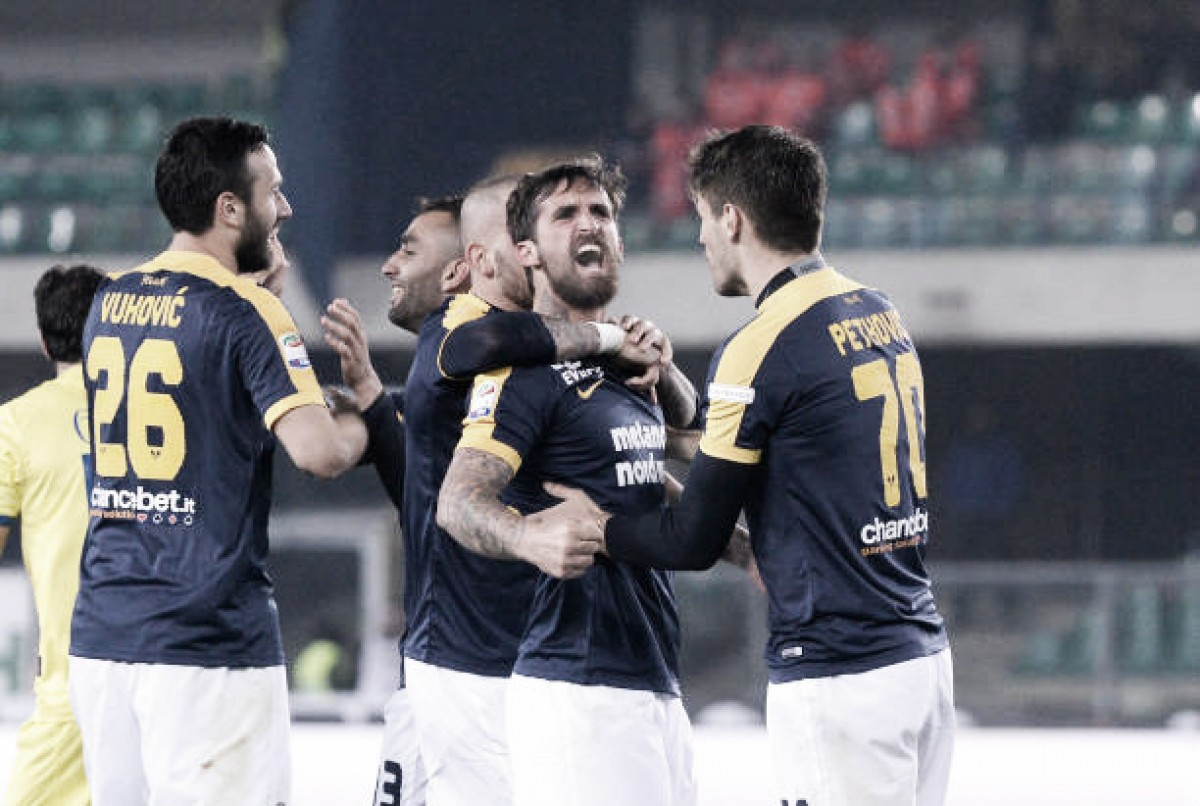No clássico de Verona, Hellas vence Chievo e respira na Serie A