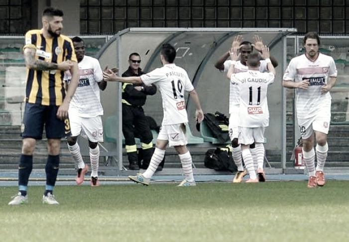 Serie B: 1-1 tra Carpi ed Hellas, Pazzini risponde a Lasagna