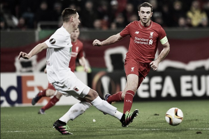 Augsburg 0-0 Liverpool: Reds' lacklustre finishing leaves them needing to win in last 32 second-leg