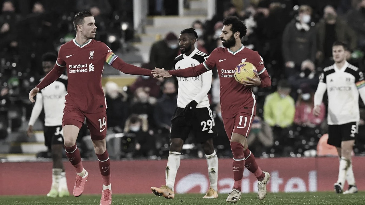 El Liverpool no pasa del empate en Craven Cottage