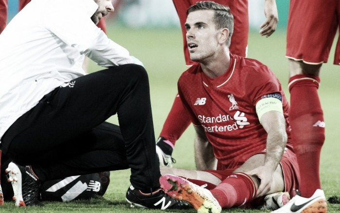 Liverpool captain Jordan Henderson set to miss remainder of season with knee injury