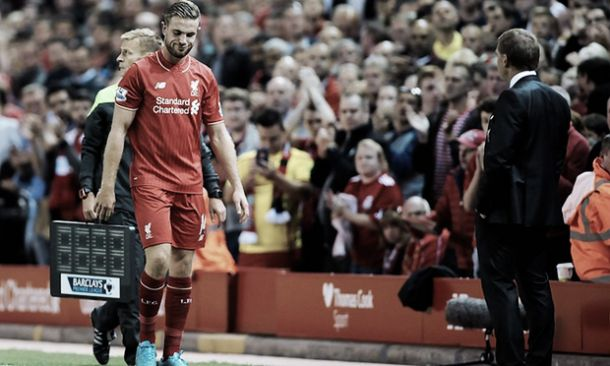 Liverpool captain Jordan Henderson misses out on England fixtures through injury
