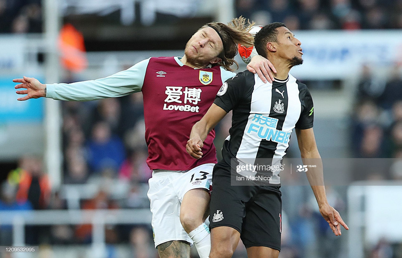 Where will Jeff Hendrick play at St James' Park?