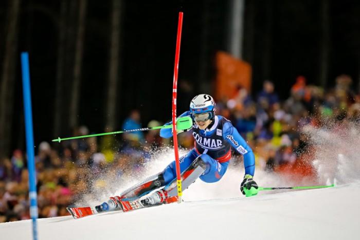Sci Alpino - Madonna di Campiglio, Slalom Speciale - Kristoffersen fa l'andatura dopo la 1°manche
