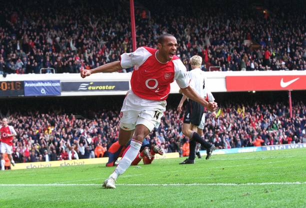 Thierry Henry: Top three goals