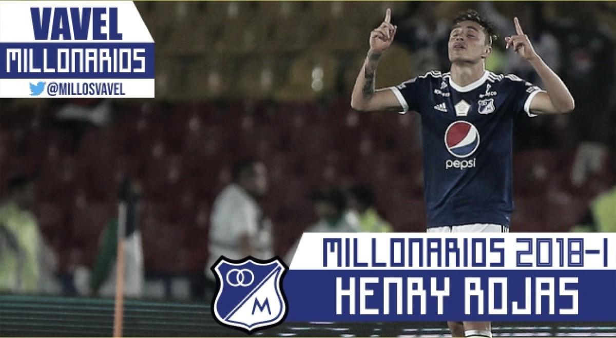 Millonarios 2018-I: Henry Rojas