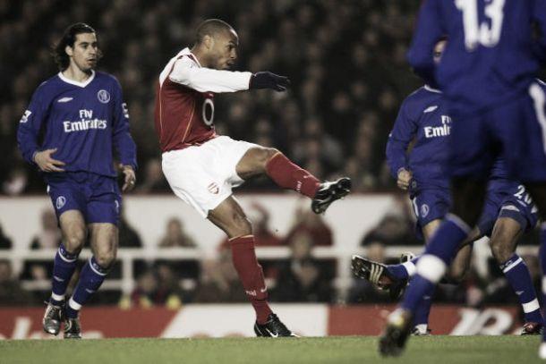 Top Five: Arsenal goals against Chelsea