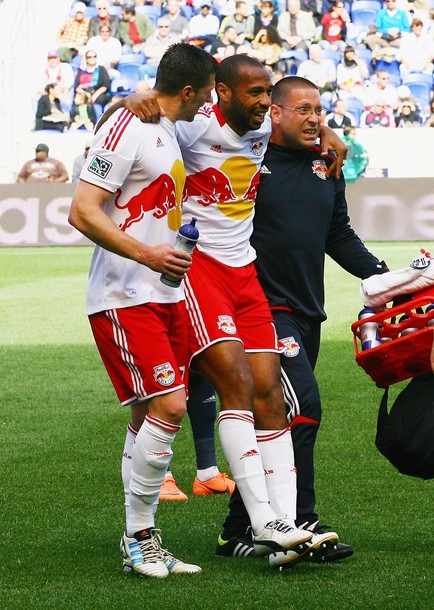 New-York Red Bulls : Thierry Henry en a pour un mois