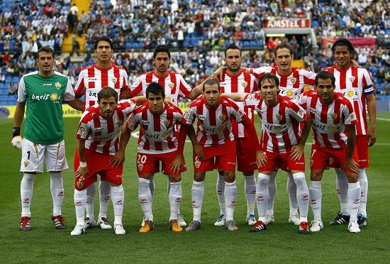 Hércules - Almería: Puntuaciones del Almería, jornada 37