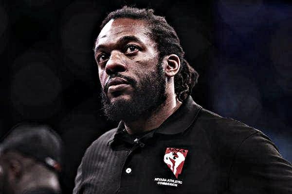 Dean ya no será árbitro del evento principal de UFC 232