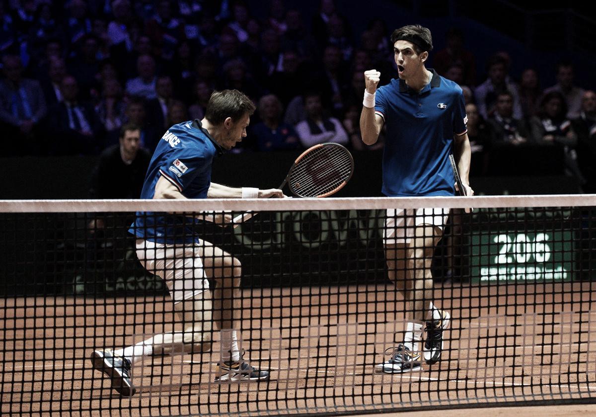 Herbert/Mahut batem Dodig/Pavic e mantêm França viva na Copa Davis