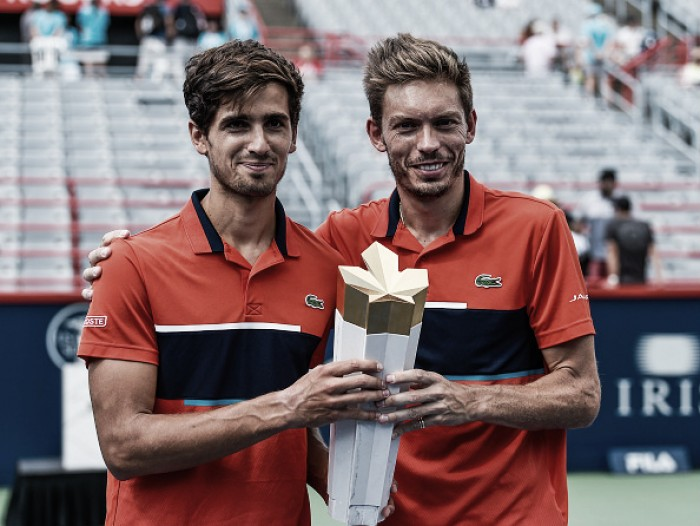Pierre-Hugues Herbert and Nicolas Mahut qualify for the Nitto ATP World Tour Finals