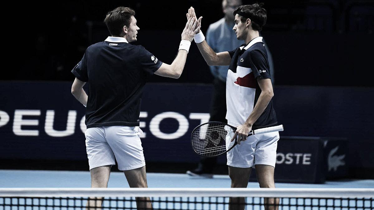 Herbert/Mahut vencem partida emocionante contra Cabal/Farah e vão à decisão do ATP Finals