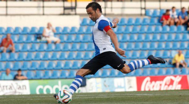 Paco Peña durante un encuentro de la presente temporada (Foto: Zonahercules.com)