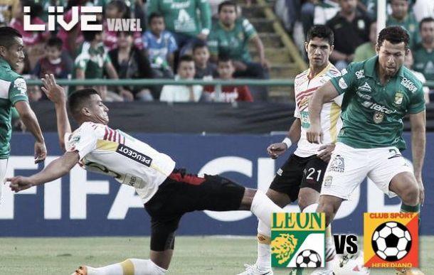 Resultado Herediano vsLeón en Concachampions 2014 (2-1)