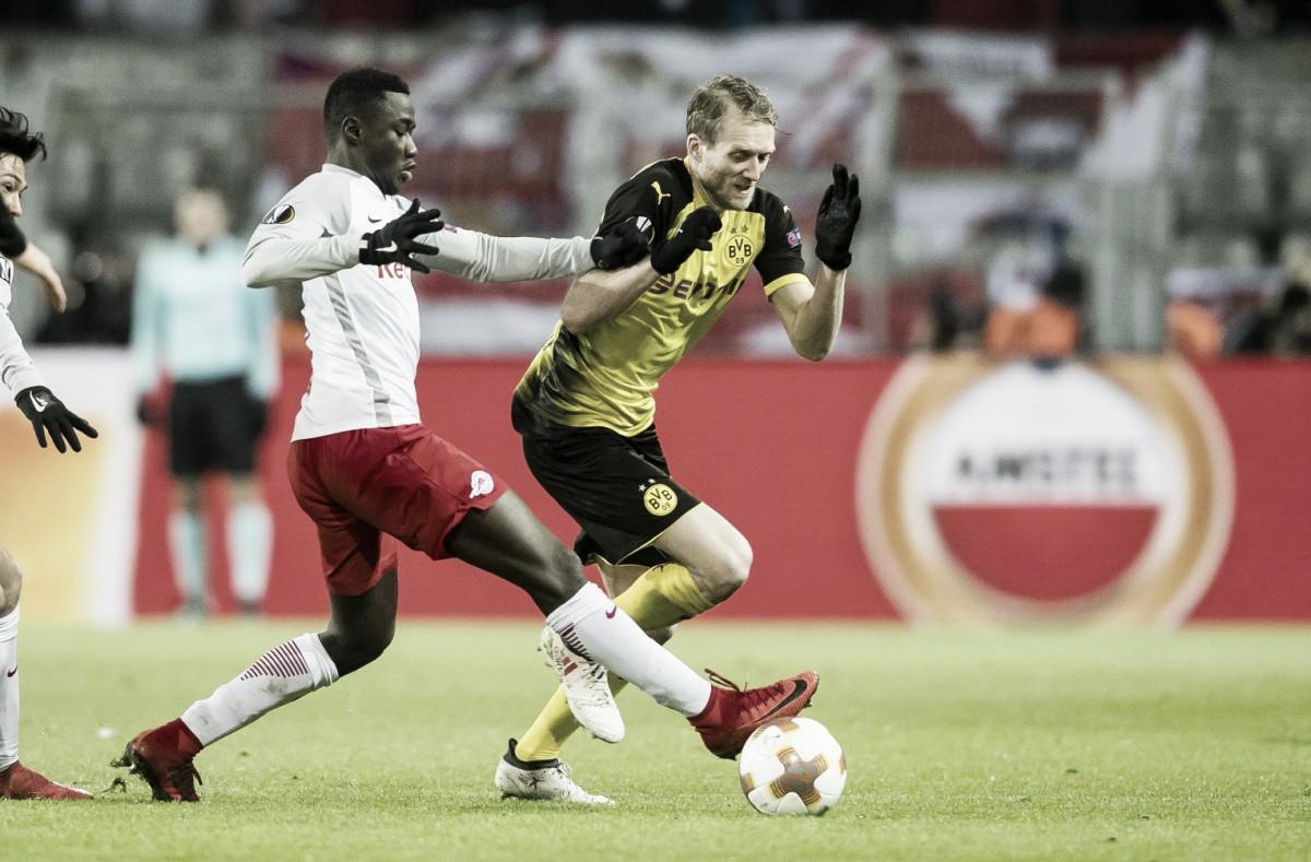 Previa Red Bull Salzburg - Borussia Dortmund: Recuperar lo perdido