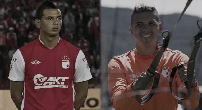 Edwin y Mateo Cardona: las dos caras de la moneda en Independiente Santa Fe