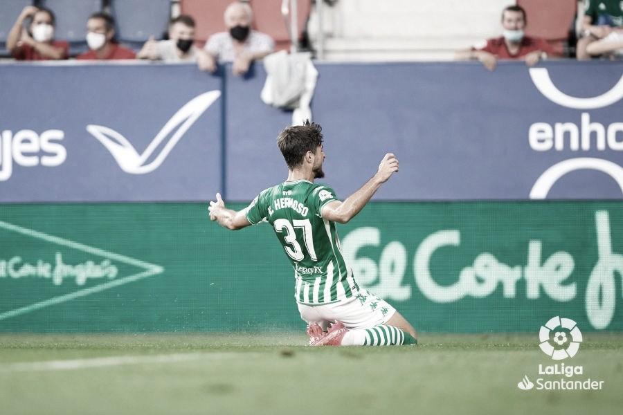 Resumen Osasuna vs Real Betis en LaLiga Santander 2021 (1-3)