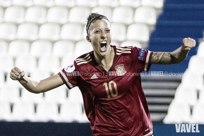Siete azulgranas participan en la goleada de la Selección Española femenina ante Azerbaiyán
