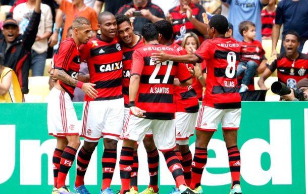 Flamengo goleia o Criciúma no confronto direto contra o rebaixamento