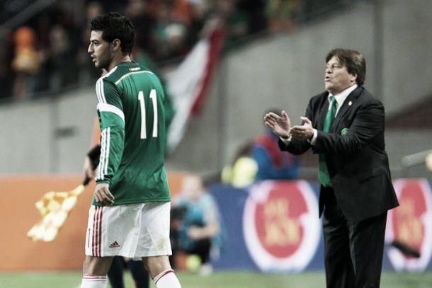 """Miguel Herrera: """"Demostramos que podemos jugar de tú a tú ante las potencias"""""""