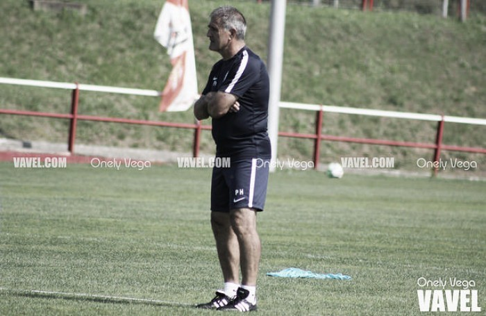 Paco Herrera cumple 100 días al frente del Sporting