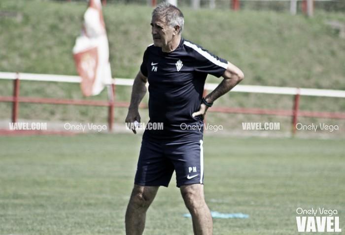"""Paco Herrera: """"El objetivo es conseguir los nueve puntos esta semana"""""""