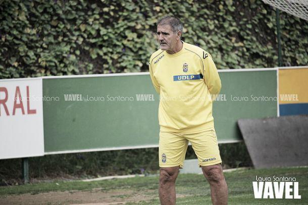 Herrera durante un entrenamiento | Fotografía: Laura Santana