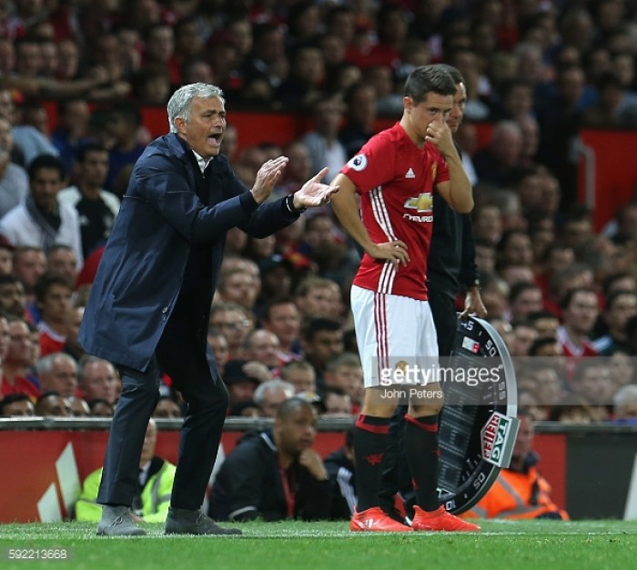 Mourinho hails Herrera's football brain at university lecture