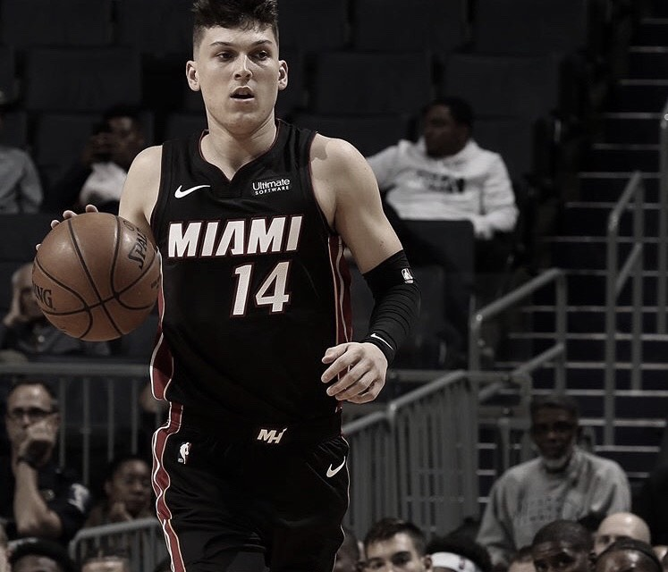 Tyler Herro, making an impact on and off the court