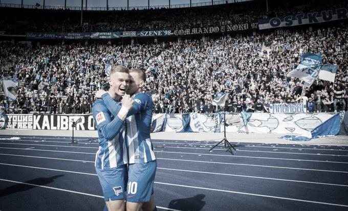 Hertha Berlin vence e afunda Stuttgart na Bundesliga