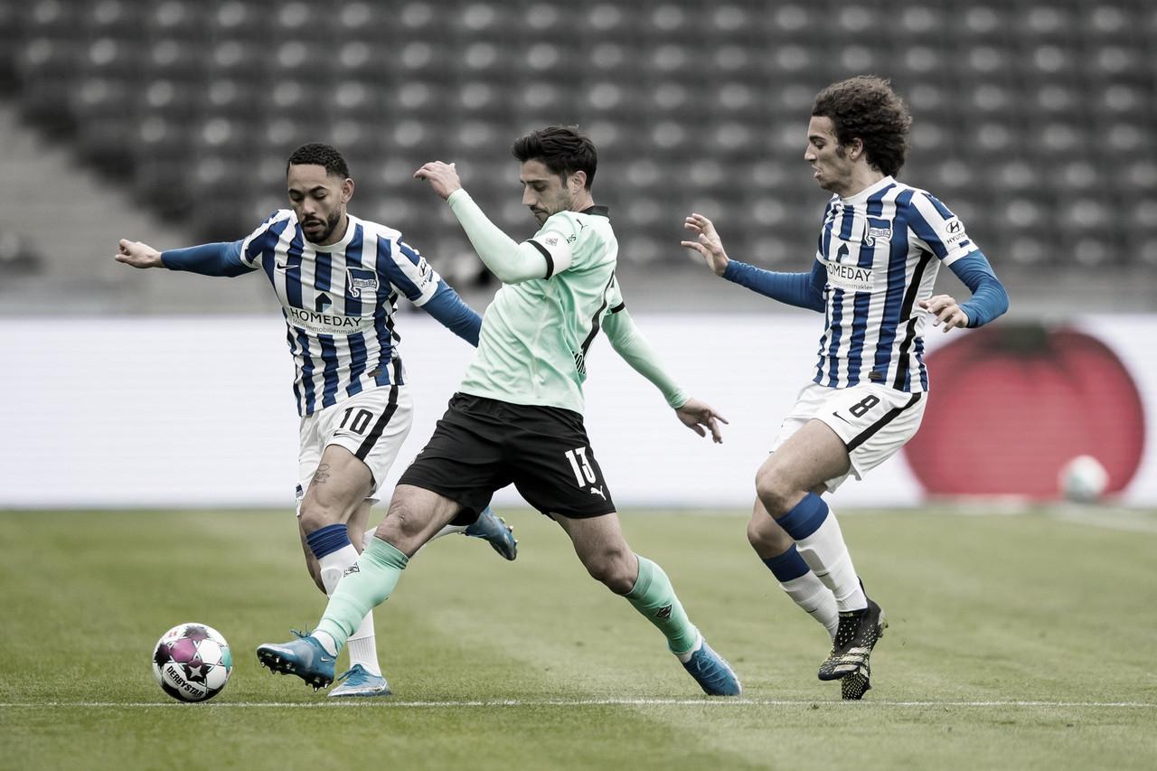 Com VAR protagonista, Hertha Berlin e Borussia Monchengladbach ficam empate na Bundesliag