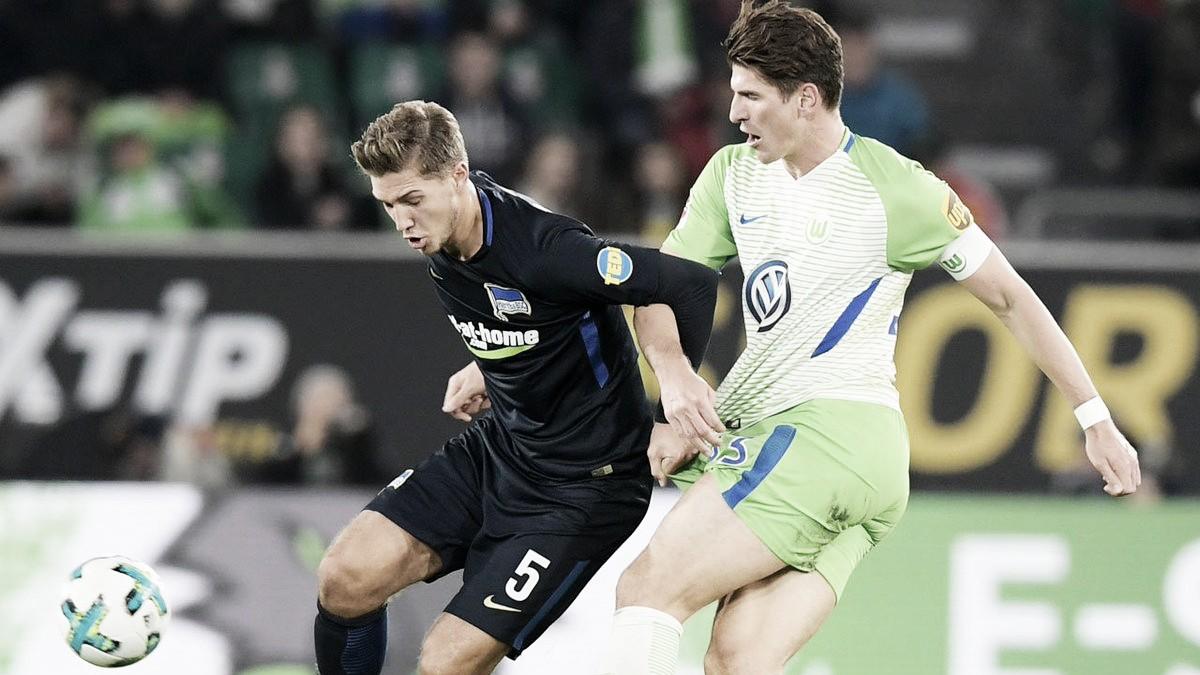 Hertha Berlin V Wolfsburg