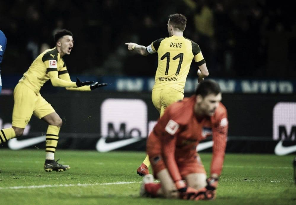 Reus al rescate: agónica victoria del Borussia Dortmund sobre Hertha BSC