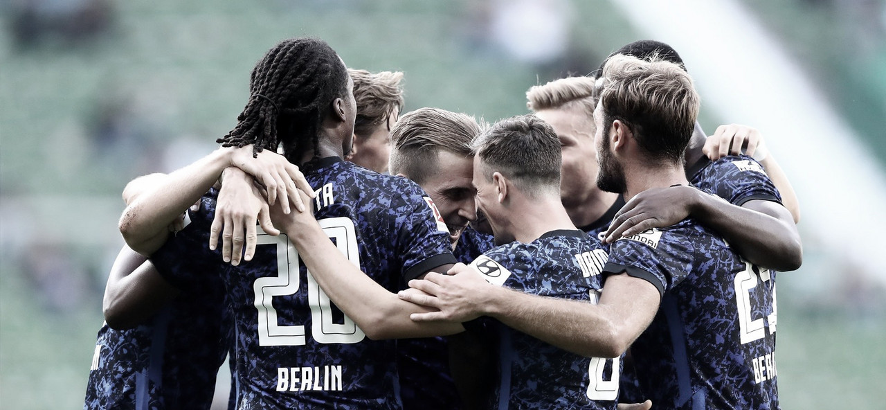 Com grande atuação de Matheus Cunha, Hertha Berlin goleia Werder Bremen fora de casa