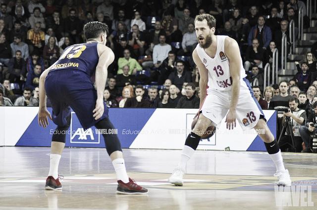 El Barcelona insiste pero cae derrotado ante un resistente CSKA de Moscú (76-84)