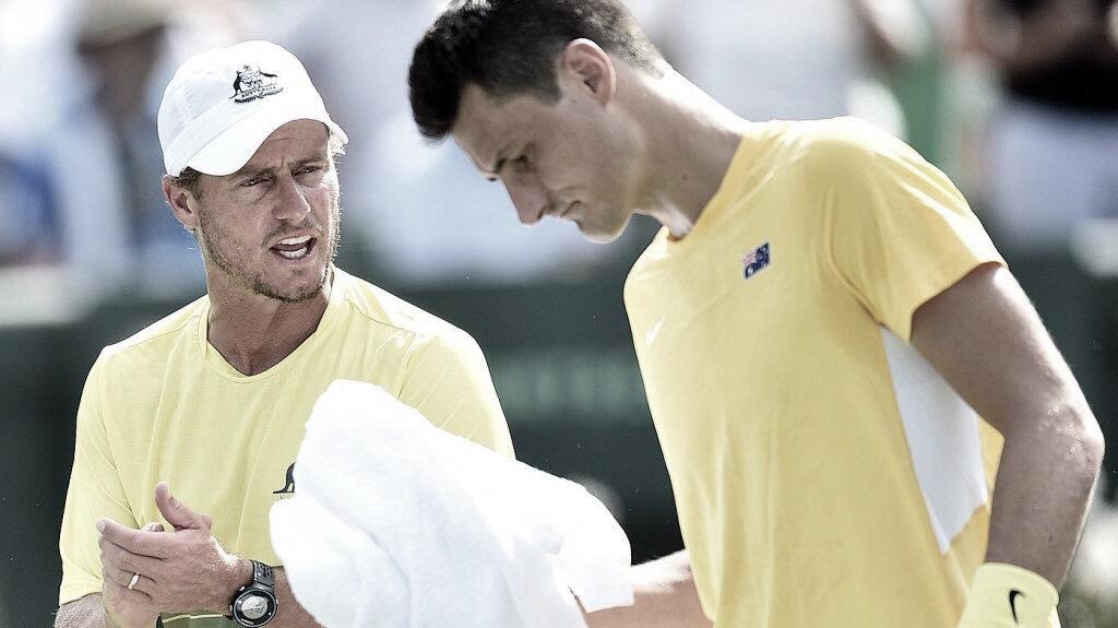 Problemas entre Hewitt y Tomic