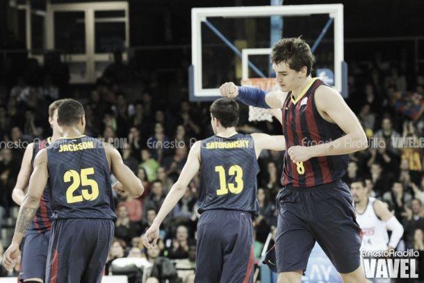 Huertas lidera la victoria del Barça