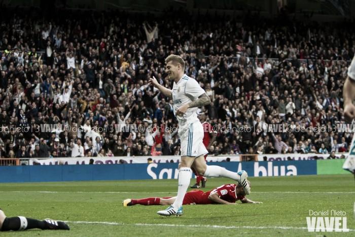 Sólo hubo un equipo en el Santiago Bernabéu
