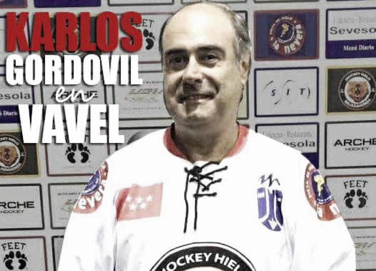 """Entrevista. Karlos Gordovil: """"Ya ha nacido el primer jugador español capaz de jugar en la NHL"""""""