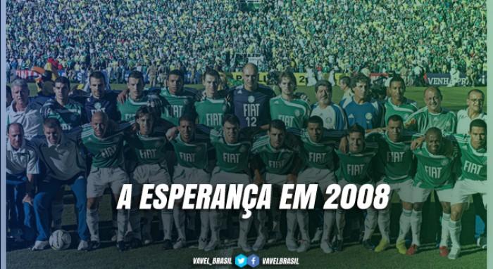 Palmeiras conta com inspiração em 2008 para avançar à final